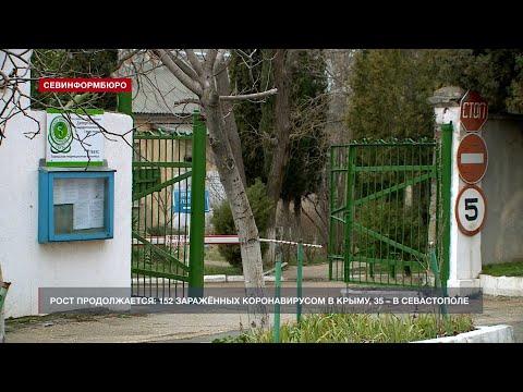 Рост продолжается: 152 заражённых коронавирусом в Крыму, 35 – в Севастополе