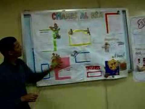 Exposici n del mural escolar youtube for Como pegar papel mural