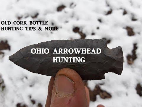 Ohio Arrowhead Hunting IN THE SNOW TREASURE Archaeology