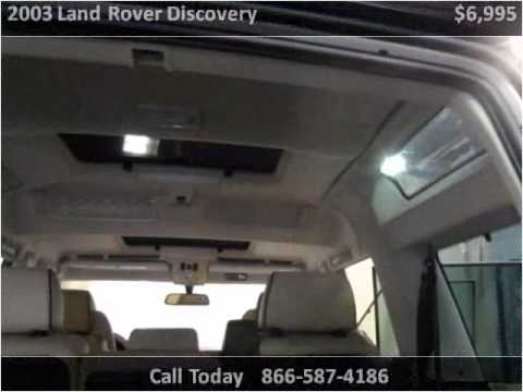 2003 Land Rover Discovery Used Cars Arlington TX