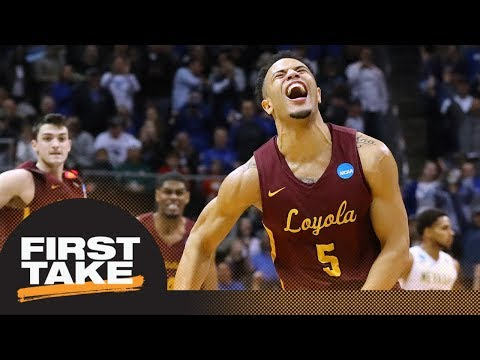 Are several 'Cinderella' teams in Elite 8 good for NCAA tournament? | First Take | ESPN