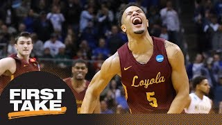 Are several 'Cinderella' teams in Elite 8 good for NCAA tournament?   First Take   ESPN