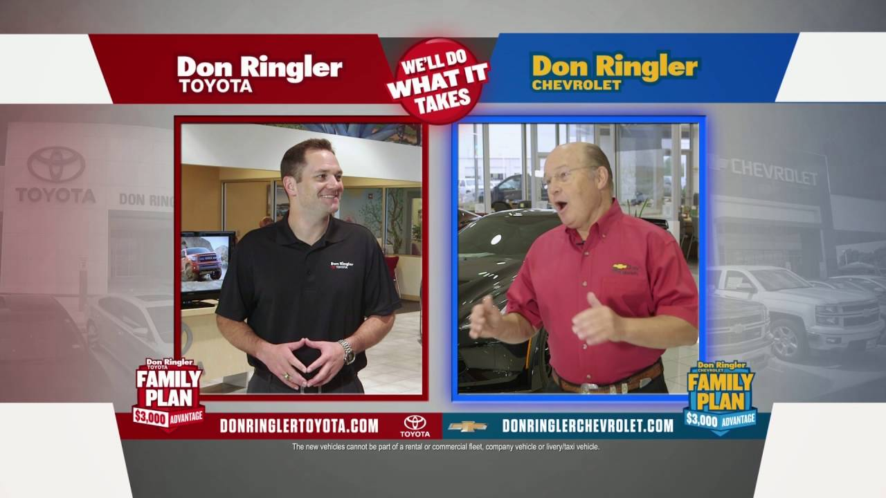 Don ringler chevrolet toyota family feud truck specials