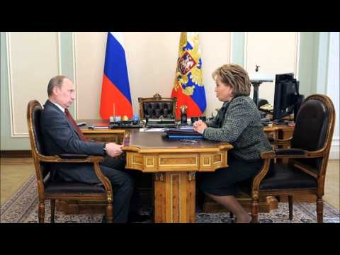Vladimir Putin: Meeting with Federation Council Speaker Valentina Matviyenko - May 28, 2012