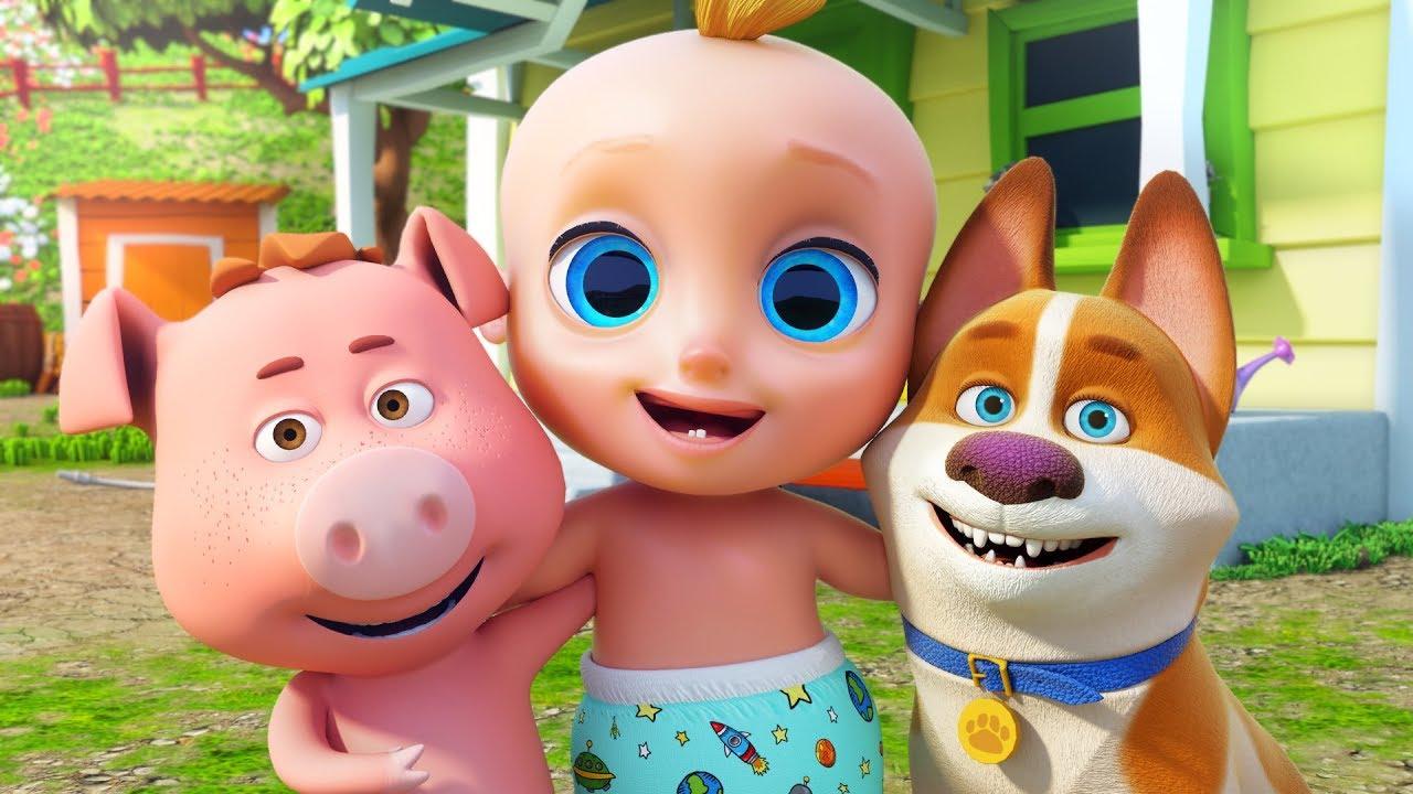 Canción de Los Animales - Canciones Infantiles | El Reino Infantil