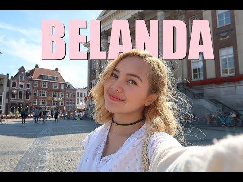 Beby Vlog #32 - Jalan-jalan Di Belanda Sebelum Shooting😜 ROMPIS #PART1