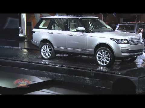 Jaguar Land Rover at 2012 Paris Motor Show
