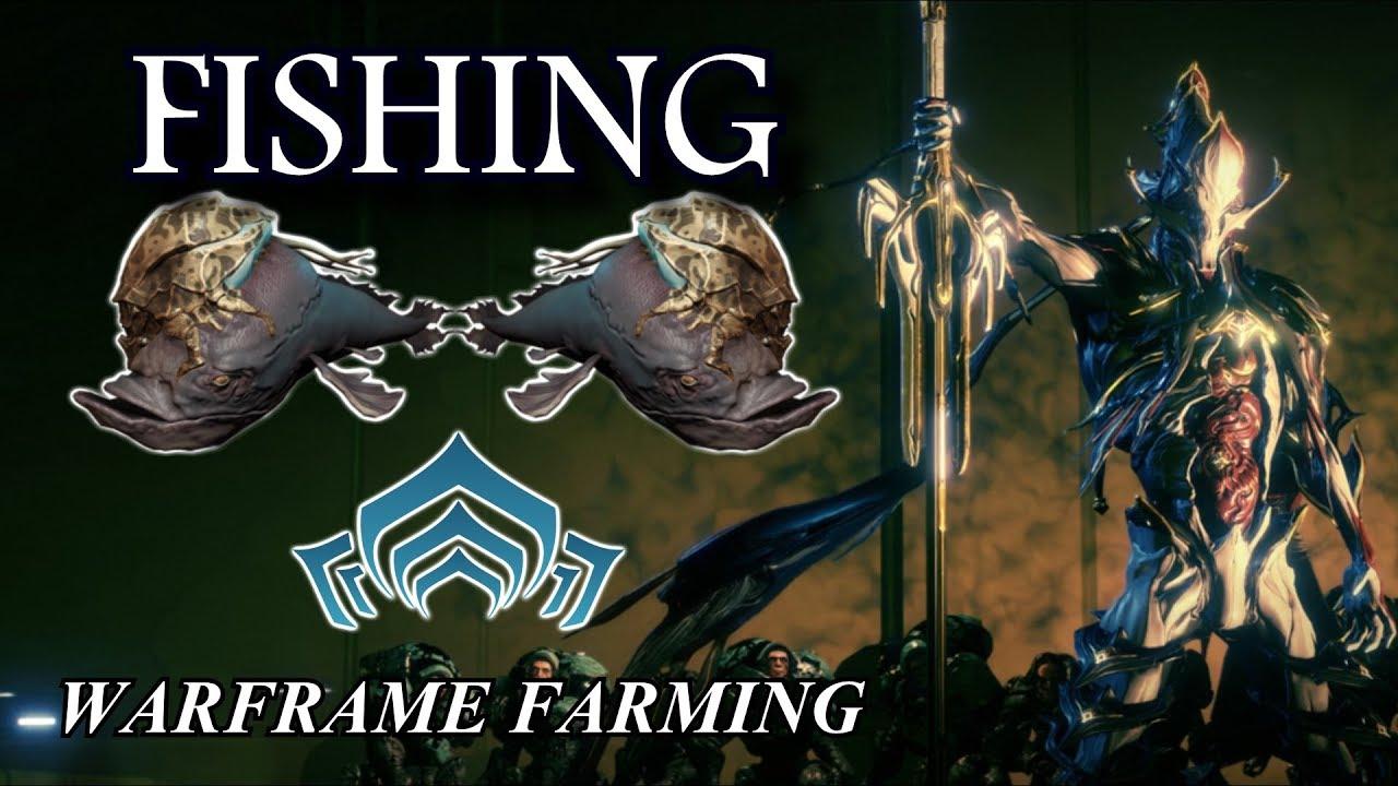 Warframe farming fishing youtube for How to fish in warframe