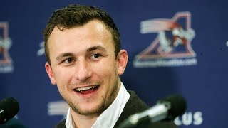 Johnny Football is a Montreal Alouette
