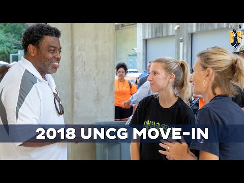 Move-In Week at UNC Greensboro
