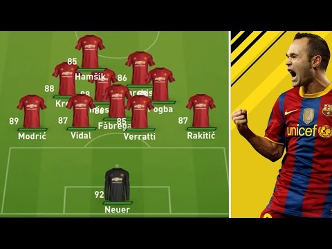 COULD THE BEST MIDFIELD IN THE WORLD WIN THE PREMIER LEAGUE?!?! (FIFA CAREER MODE EXPERIMENT)