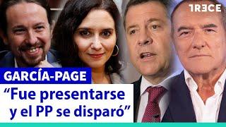 """García-Page: """"Ayuso le debe una comida a Iglesias"""""""