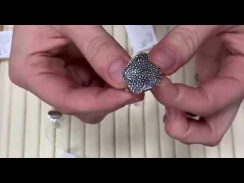 Серьги и кольца из серебра без вставок. Завод Невский