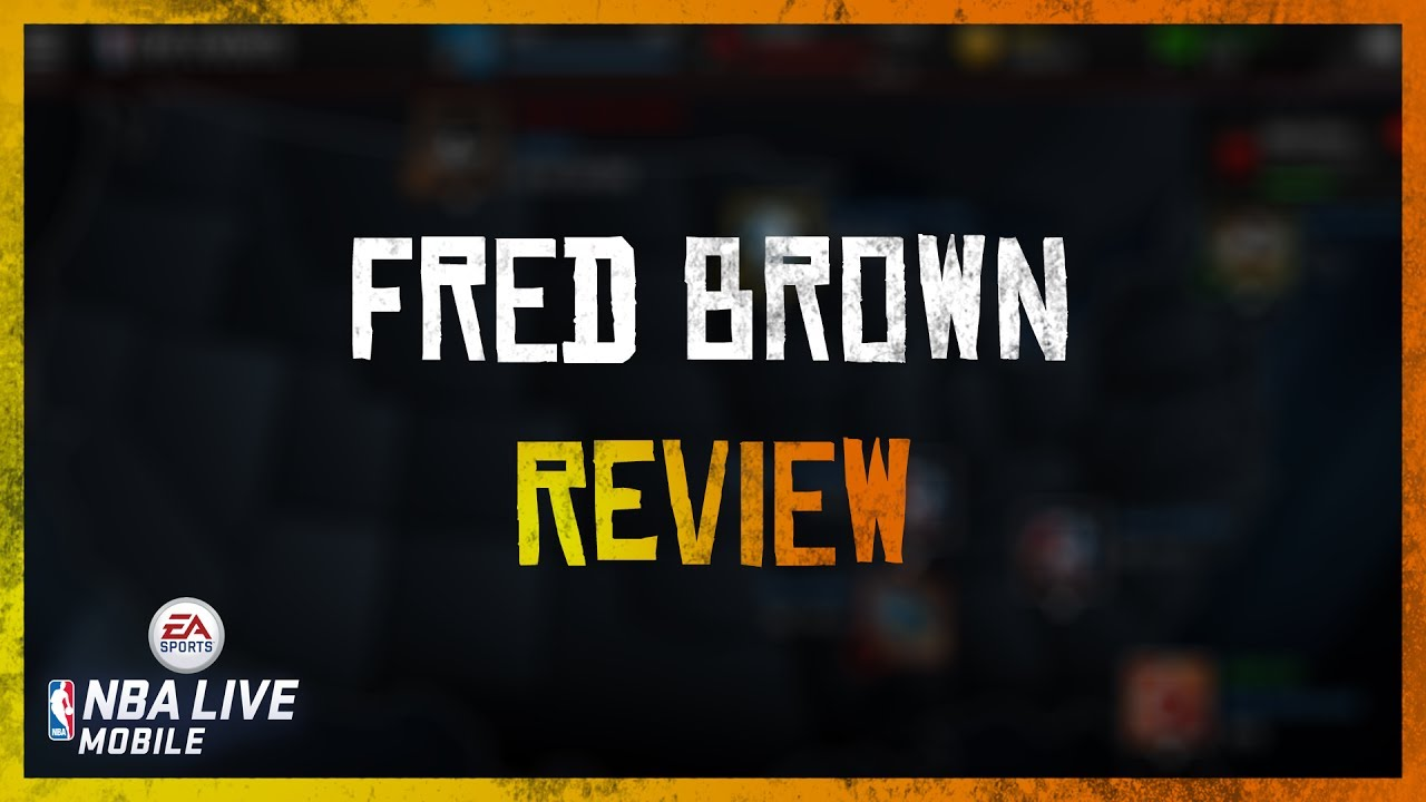Seattle Legend 99 OVR Fred Brown Review NBA Live Mobile