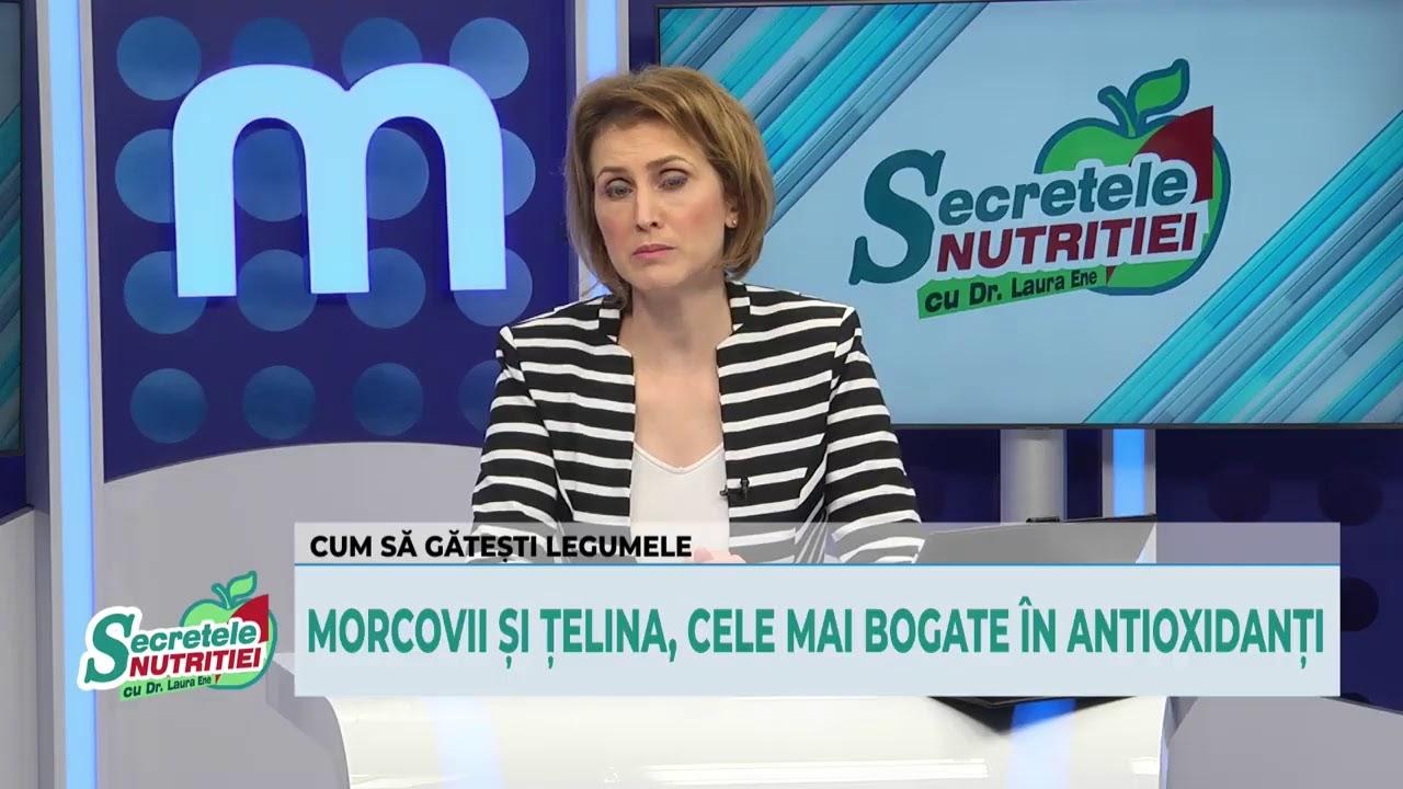Secretele Nutritiei 16.12.2020 -  Cum gătim și mâncăm nu doar sănătos, ci și gustos