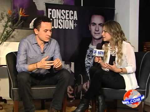 Fonseca talks with Maria Paula about his brand new video 'Ay Amor'