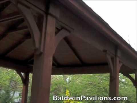 Large Wooden Pavilion by Baldwin Pavilions.com