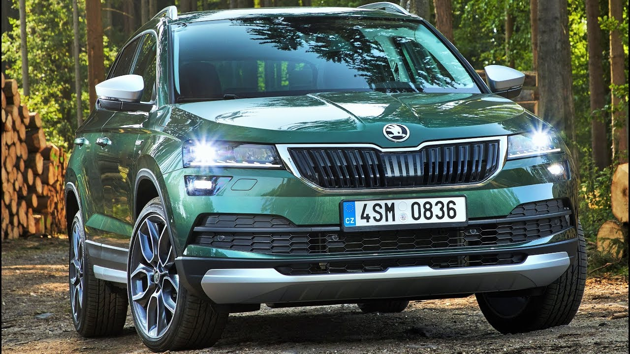 2019 skoda karoq scout new off road variant of the compact suv youtube. Black Bedroom Furniture Sets. Home Design Ideas
