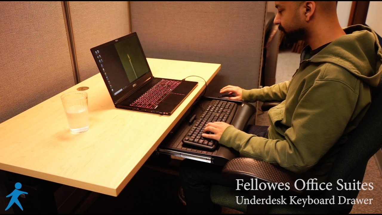Fellowes Office Suites Underdesk Keyboard Drawer Review