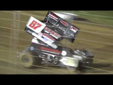 Angell Park Speedway IRA All Star Circuit of Champions Sprint Car Main Event July 26 2018