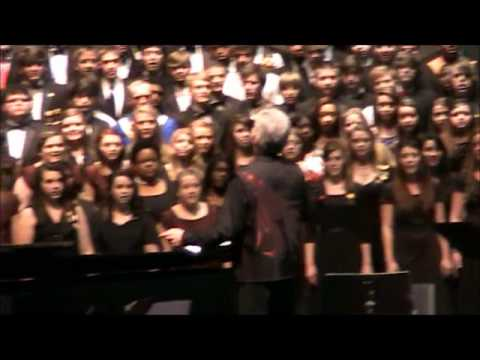 2012 Alabama All-State Choral Members sing