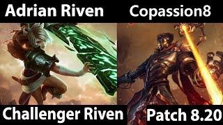 [ Adrian Riven ] Riven vs Viktor [  Copassion8 ] Top  - Adrian Riven Gameplay