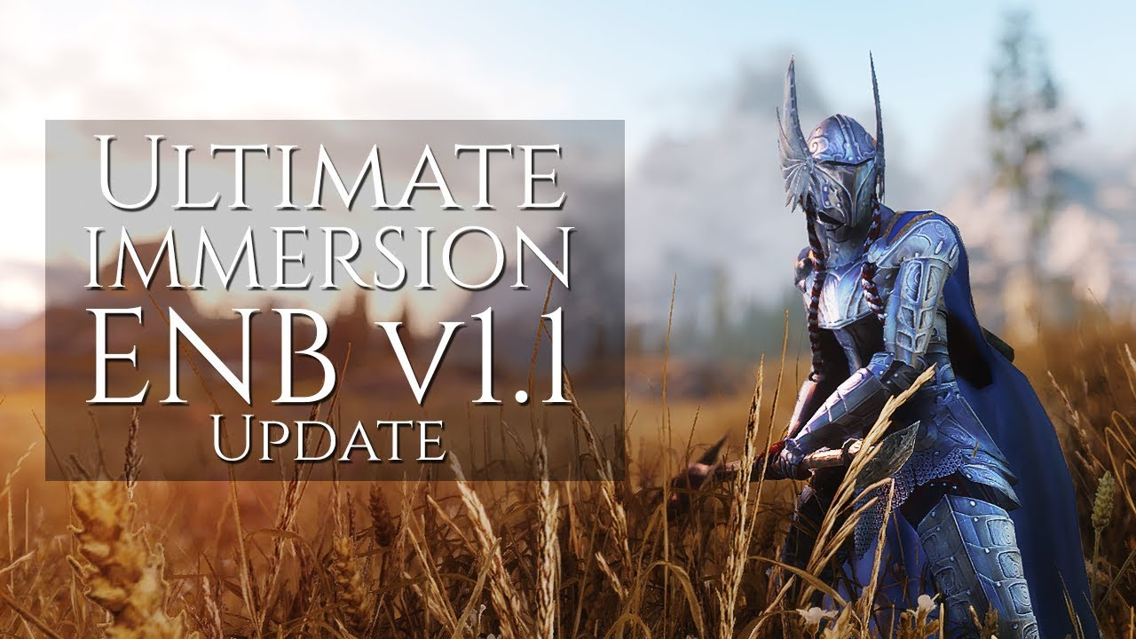 Complex Particle Lights & Fix Update - Ultimate Immersion SE ENB | Skyrim  SE Ultra Graphics