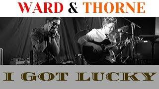 Liam Ward & Malcolm Thorne - I Got Lucky (Long St Blues Club, Devizes)