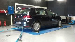 Reprogrammation Moteur VW Golf 6 tdi 140 @ 190cv dyno digiservices Paris