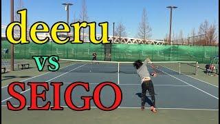 deeru vs SEIGO - Singles Highlights[tennis]