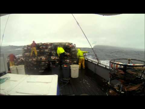 Commercial Crabbing Footage 2013/2014 Season F/V Heidi Sue Newport Oregon