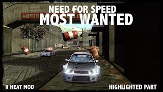 The beginning of WHITE-BARU | Need for speed most wanted aka with heat 9 mod