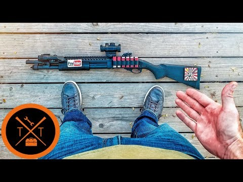 Tactical Shotgun Build // YOUTUBE DIDN'T WANT YOU TO SEE
