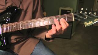 Honky Tonk - Guitar Lesson