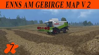 Farming simulator 15 / Enns Am Gebirge map v 2 / Episode 7 / SOLO