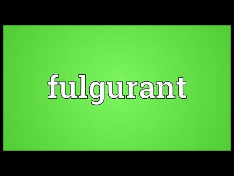 Header of fulgurant