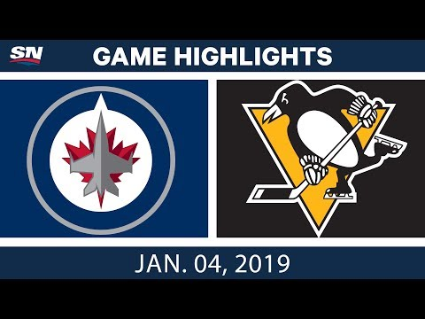NHL Highlights | Jets vs. Penguins - Jan. 4, 2019
