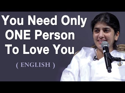 You Need Only ONE Person To Love You: BK Shivani at Hobart, Australia English