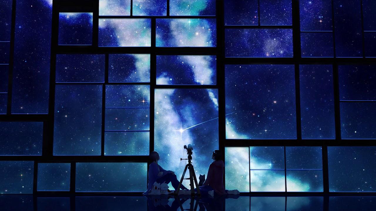 Stars Night Sky Anime Live Wallpaper Youtube