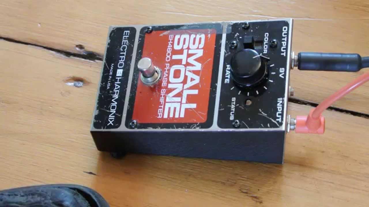 Electro Harmonix V 4 Small Stone Phaser W Soaringtortoise