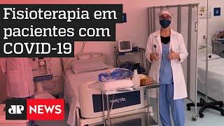 Fisioterapeuta explica atendimento em pacientes com coronavírus