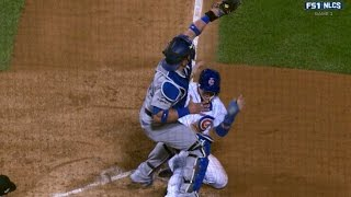 Baez steals home in the 2nd inning