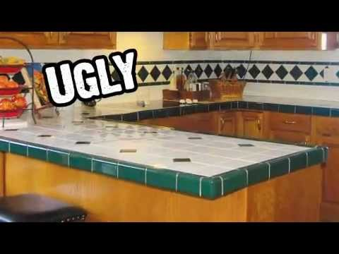 Superieur Ugly Kitchen Countertops Don T Replace Refinish You