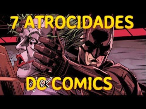 7 momentos mas atroces DC COMICS - batman - wonder woman - linterna verde - alejozaaap