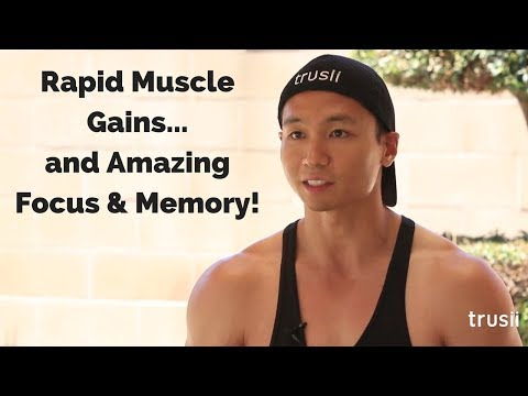 The trusii H2 Experience: Will's amazing bodybuilding gains + incredible cognitive boost!