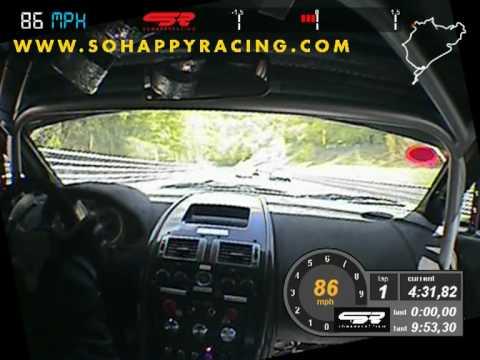 24 Hours Nürburgring Nordschleife 2010 Onboard Start of Race