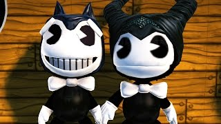LittleBigPlanet 3 - (PS4) Bendy And The Ink Machine Costume Giveaway / 밴디와 잉크기계 | EpicLBPTime