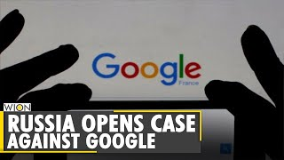Russia opens case against US tech giant Google | World News | WION News