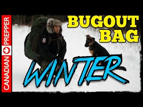 REAL Winter Bug out Bag/ Survival Gear
