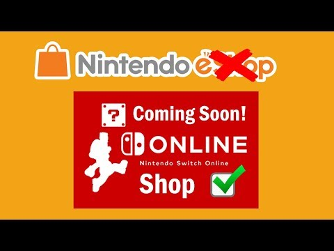 Nintendo Switch eShop is Changing - Welcome to The Nintendo Switch Online Shop!